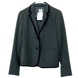 "*NWT* GAP ""The Academy"" Gray Blazer"